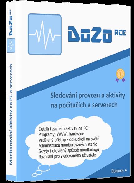 DoZo – sledování počítače a monitorování PC